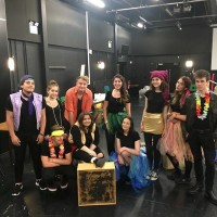 Actors at Canterbury Institute for Performing Arts take to the road for the Theatre in Education programme in schools